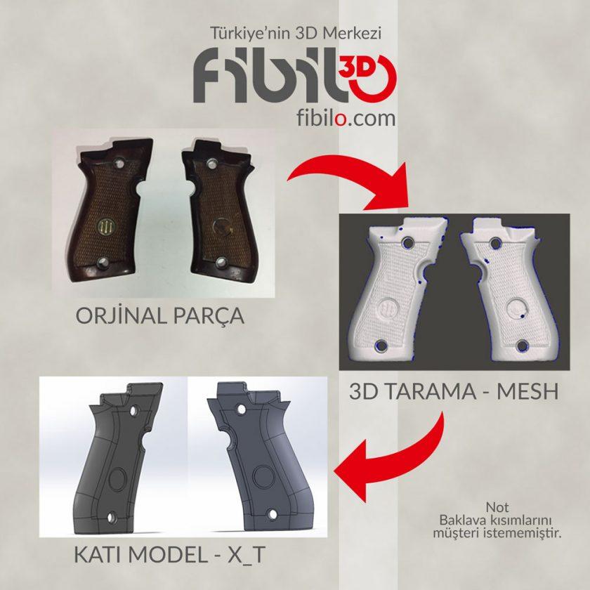 3D Tarama Hizmeti