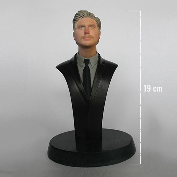 3d yazici baski bust heykel fotoğraftan