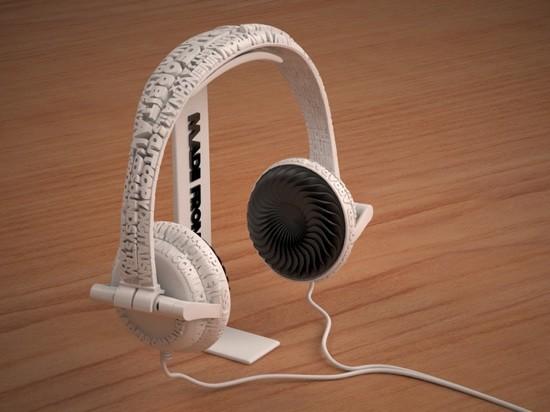 3d yazici baski kulaklik
