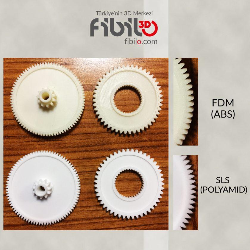 FDM SLS Dişli