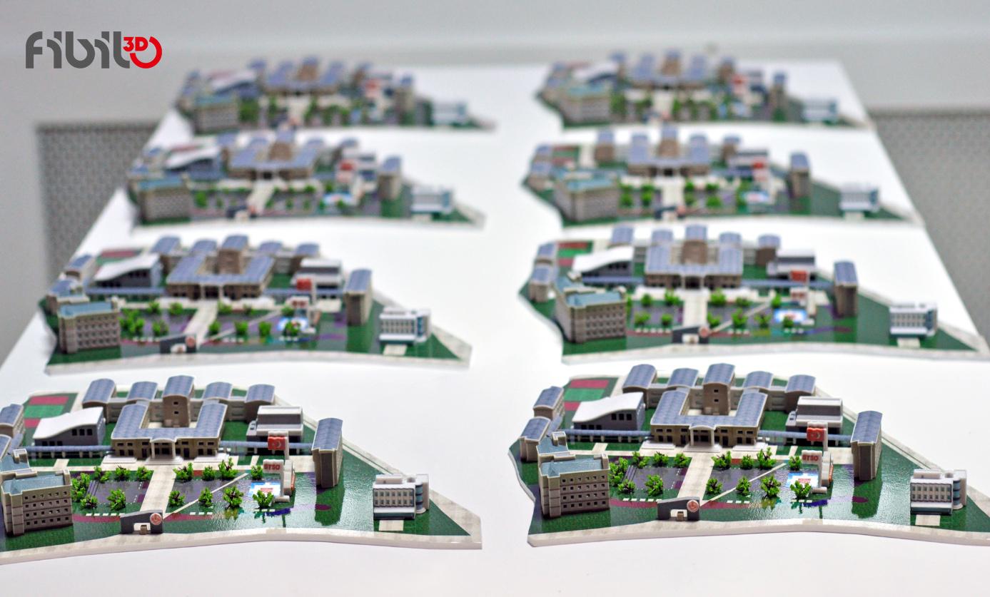 mimari maket 3d yazıcı 3