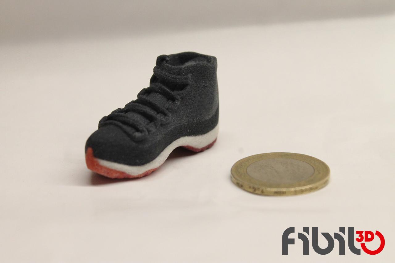 Renkli 3d baskı ayakkabi