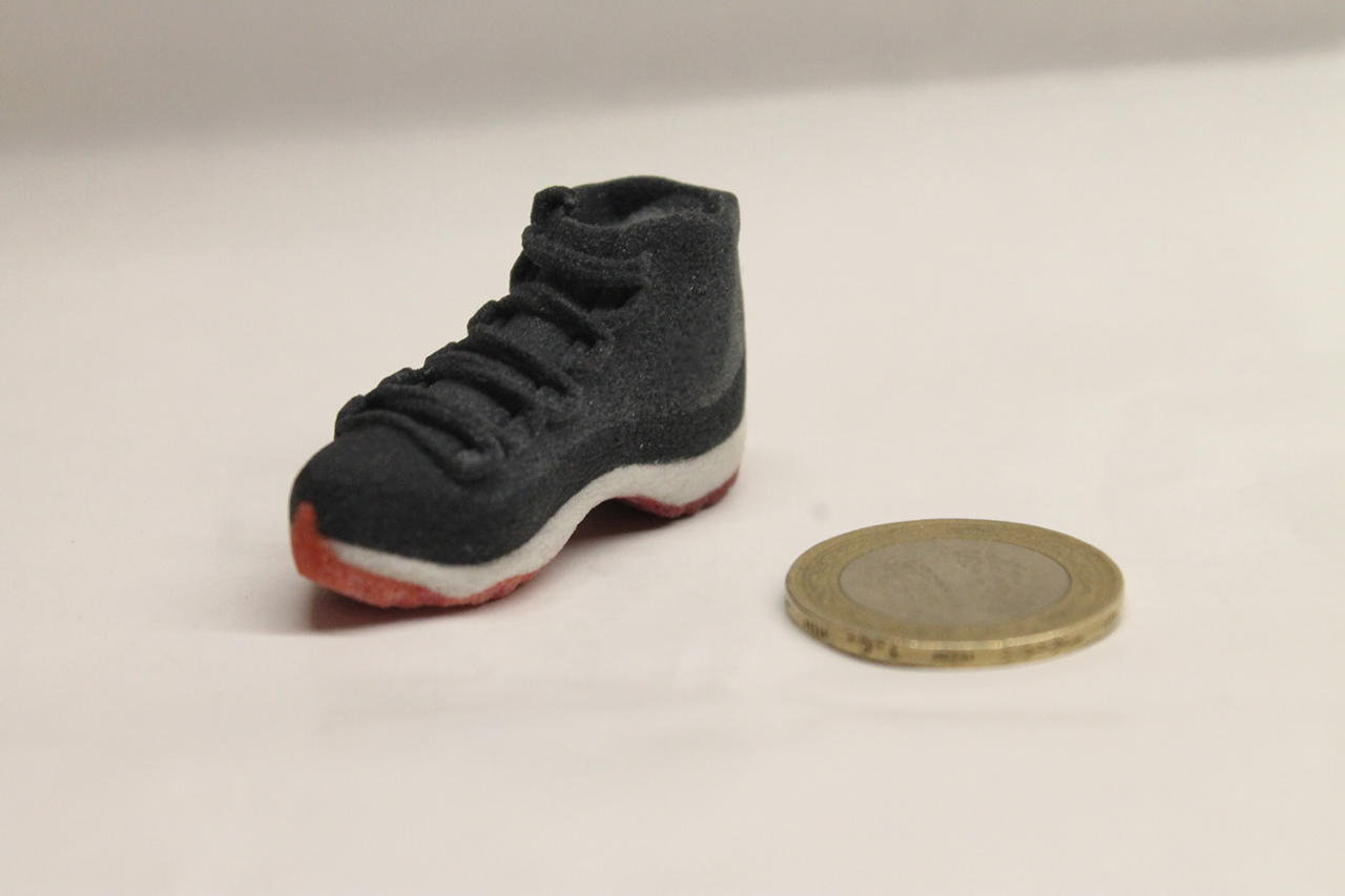 Renkli 3d baskı ayakkabi 1