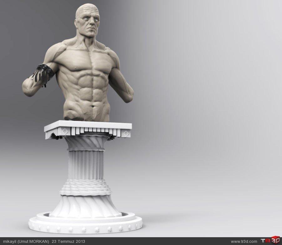 3d heykel