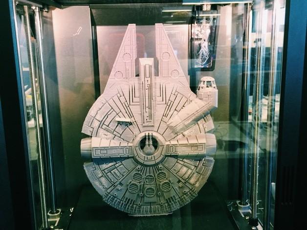 Star wars gemisi 3d yazıcı printing (1)