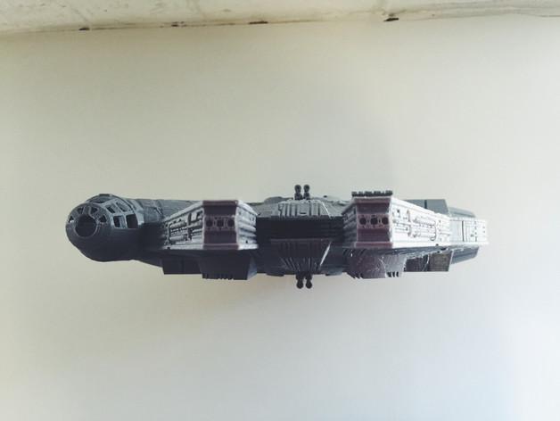 Star wars gemisi 3d yazıcı printing (2)