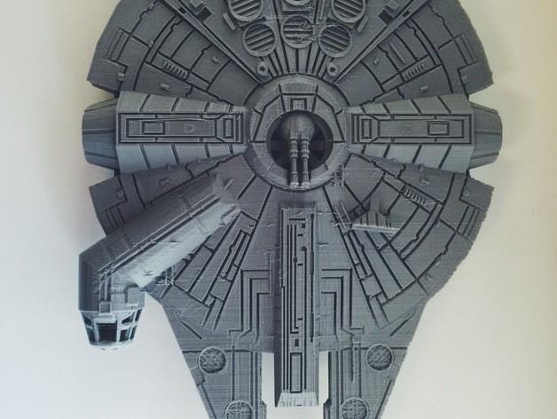 Star wars gemisi 3d yazıcı printing (4)