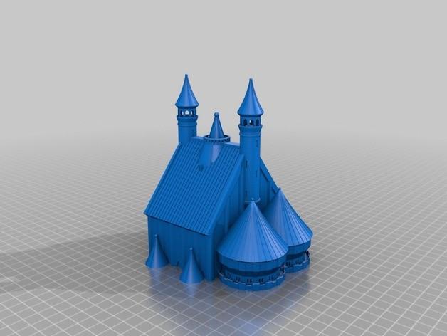castle 3d print yazıcı (2)