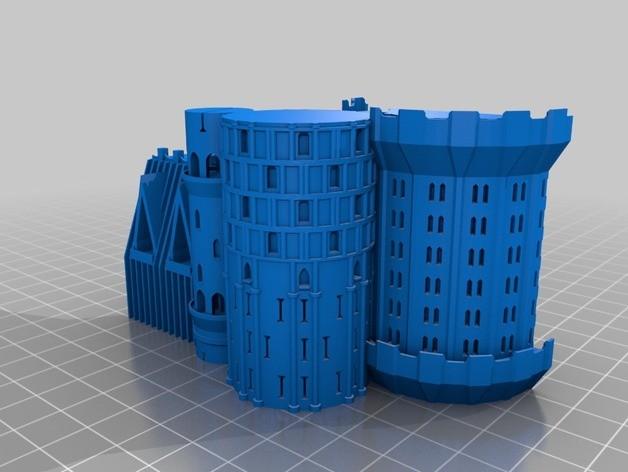 castle 3d print yazıcı (23)