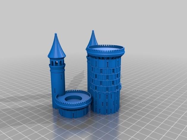 castle 3d print yazıcı (3)