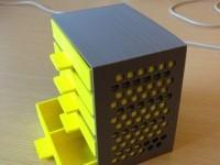 mini çekmece 3d yazıcı printing (6)
