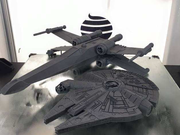 star wars uzay gemisi 3d yazıcı (1)