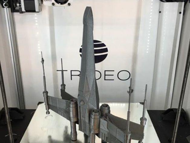 star wars uzay gemisi 3d yazıcı (2)