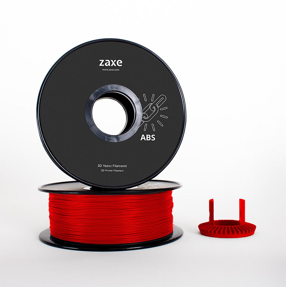 zaxe abs kırmızı filament
