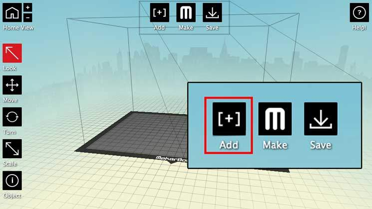 Makerware 3d software