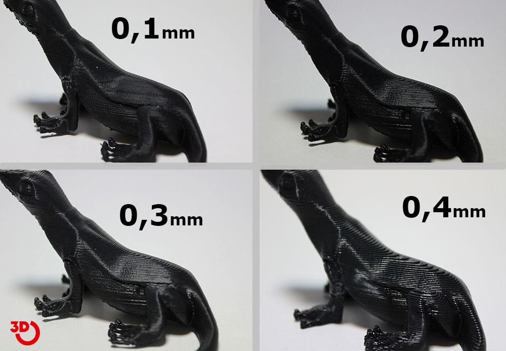 3D Baskı Çözünürlük
